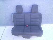 new   Bench Seat BLACK CLOTH truck van bus classic car  hotrod