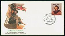 New listing Canada Fdc 1983 Sir Humphrey Gilbert First Day Cover