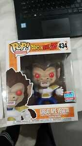Funko Pop! Dragon Ball Z GREAT APE VEGETA #434 NYCC 2018 Fall Convention