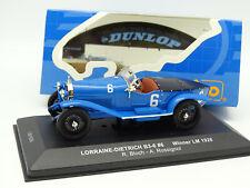 IXO 1/43 - Lorraine Dietrich B3-6 N°6 Winner Le Mans 1926