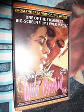 WILD ORCHID. VHS. MICKEY ROURKE. RARE.