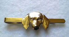 Tie Bar Silver Tone Dog-Made In Czech