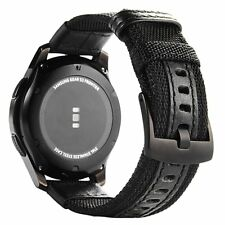 Samsung Galaxy Gear S3 Classic/Frontier SmartWatch Woven Nylon Band Sport Buckle