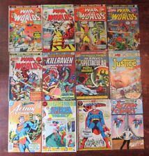 Bronze Age Marvel & DC Lot of 12, Action Comics, Superman, & Amazing Adventures