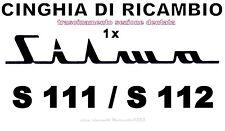 ★CINGHIA DI RICAMBIO TRASCINAMENTO 1 x PROIETTORE SILMA S111/S112 LUNGA DENTATA★