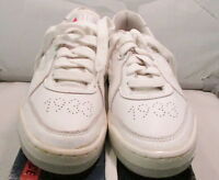 Vintage 1980's Mile 1933 Continental Mens Running Shoes, Size 7, White