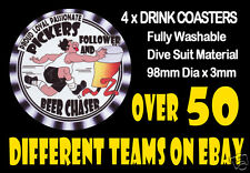 4 x PICKERS MAITLAND OR OTHER FOOTBALL RUGBY LEAGUE DRINK COASTERS