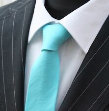 Tie Cravatta Slim Blu Mystic Qualità Floreale Cotone T6204