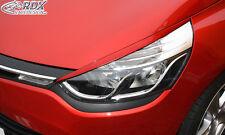 RDX Scheinwerferblenden RENAULT Clio 4 2012+ Böser Blick Blenden Spoiler Tuning