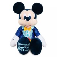 """Disneyland 65th Anniversary Mickey Mouse 13"""" Plush, 65 Years Of Magic - NWTs LE"""