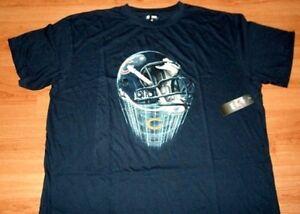 Chicago Bears Helmet Logo T-shirt Navy Plus Sizes NFL