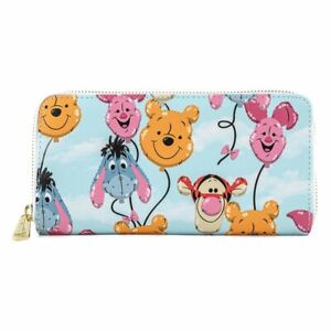 Loungefly x Disney Winnie the Pooh Balloon Friends Zip Around Wallet