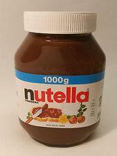 NUTELLA - FERRERO QUALITY - 35.27oz - 1kg - MADE IN GERMANY -