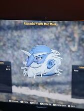 Fallout 76 Xbox Johann Winter Mann Maske sehr seltenen Fall Maske