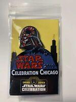 Star Wars 2019 Celebration Chicago Darth Vader 2019 Pin (IN HAND) NEW Swag RARE