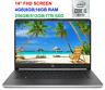 "2020 HP 14"" FHD IPS Laptop i5-1035G4 (>i7-7500U) to 3.7GHz,1080p, 16GB RAM & 1TB"
