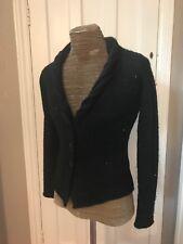 Ikks Ladies black Cardigan with sparkle size S UK 10?