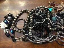 Lot of vintage costume jewelry,nothing tested lots of great pieces ,last one