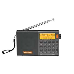 XHDATA D808 Portable Radio FM Stereo/MW/LW/Shortwave/SSB AIR World Band Receiver