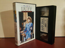 Mary Duff - Live In Concert - PAL VHS Video Tape (T50)