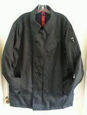 Men's Projek Raw Projekraw Black Padded Jacket Coat Size L
