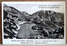 Rifugio Lago Santo Marchetti - Crinale del Giovo [grande, b/n, non viaggiata]