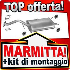 SILENZIATORE MARMITTA POSTERIORE ROVER 200 1.1 1.4 1.6