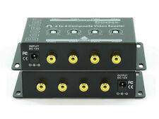 4x4 (4:4) Composite RCA Video Booster Extender Distribution Amplifier SB-2812