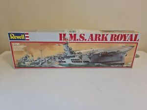 Revell H.M.S Ark Royal 1:720 Scale As Is
