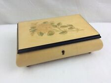 Handcrafted Jewelry Box San Francisco Music Box Co Sorrento Italy (no Key)works