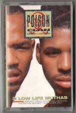 POISON CLAN 2 Low Life Muthas SEALED Gangsta Rap Down South G-Funk Tape 1990
