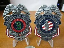 Federal Air Marshal FAM Boston Home of World Series Champions Challenge Coin C