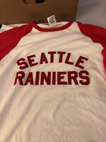 ebbets field flannels Seattle Rainers Baseball Shirt Size L