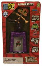 Teen Titans GO! DC Micro Starfire Posers Titanium Series 3 Magnetic Stand & Card