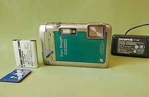 OLYMPUS STYLUS TOUGH 8010 WATERPROOF 14MP CAMERA In Perfect Working Condition