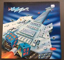 SKAGARACK - Hungry For A Game Vinyl LP Record VG+ 1988 Denmark Press Hard Rock