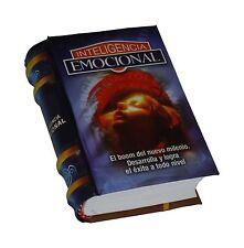 Inteligencia Emocional libro miniatura de fácil lectura pasta dura mas de 400 pg
