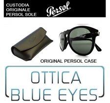 CUSTODIA CASE Persol PO 0649 Persol OCCHIALI original Sunglasses case new PERSOL
