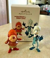 2012 Hallmark HEAT MISER and SNOW MISER set//2 Ornaments YEAR WITHOUT A SANTA