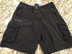 Harley Davidson Cargo Shorts Mens Size 34!