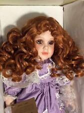 Rare Seymour Mann Doll Topaz New In Box-Beautifully Made!