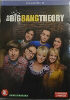 °°° DVD THE BIG BANG THEORY SAISON 8- 24 EPISODES -3 DVD NEUF SOUS BLISTER