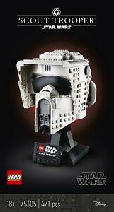 LEGO Star Wars Scout Trooper Helmet (75305) Complete Box & Instructions