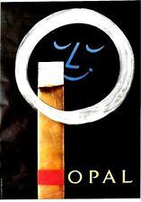 Original vintage poster OPAL SMILE FINE SWISS CIGARS 1958
