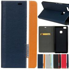 Magnetic Leather Flip Wallet PU Cards Holder Stand Case Cover For Various Phone