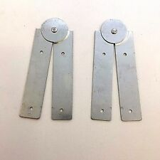 Paste Board Hinges 424 Folding Pasting Table Hinge 240mm Zinc Plated Pair