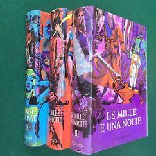 LE MILLE E UNA NOTTE Novelle Orientali 3 Volumi Ed. CURCIO (SD Anni '70)