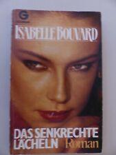 Das senkrechte Lächeln, Isabelle Bouvard, Roman, Erotik Erzählung