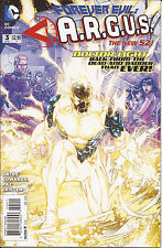 Forever Evil ARGUS #3 DC New 52 Crime Syndicate Doctor Light Steve Trevor VF