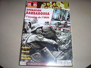 """REVUE """"39/45 MAGAZINE"""",n°119,voir le contenu en couverture,riche documentation"""
